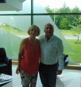 Susan with MD John Wilkins
